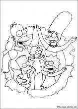 Les Coloriages Des Simpsons