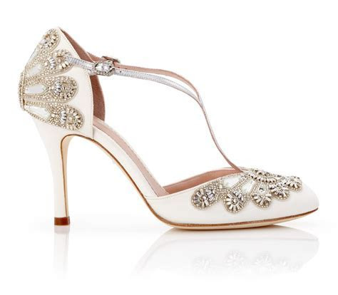 Cecile Ivory Bridal Shoe   Vintage Luxury for Modern