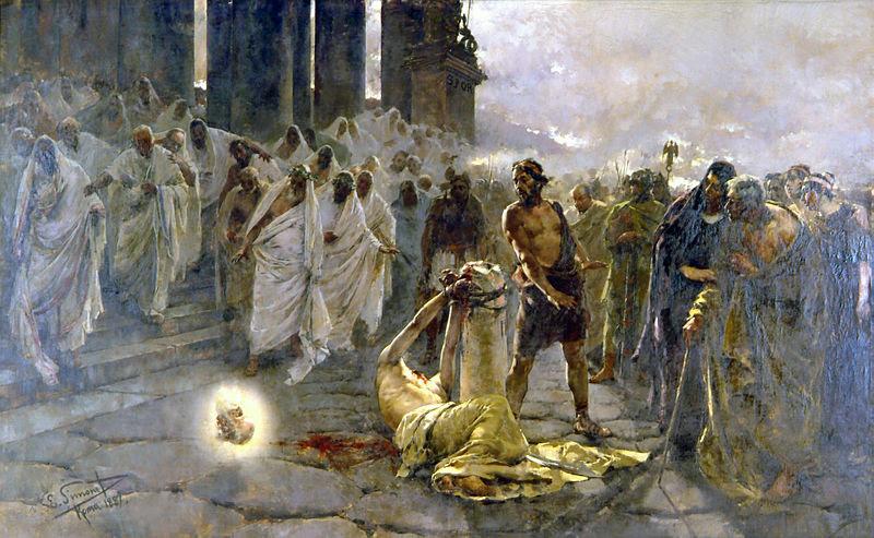 File:Decapitación de San Pablo - Simonet - 1887.jpg