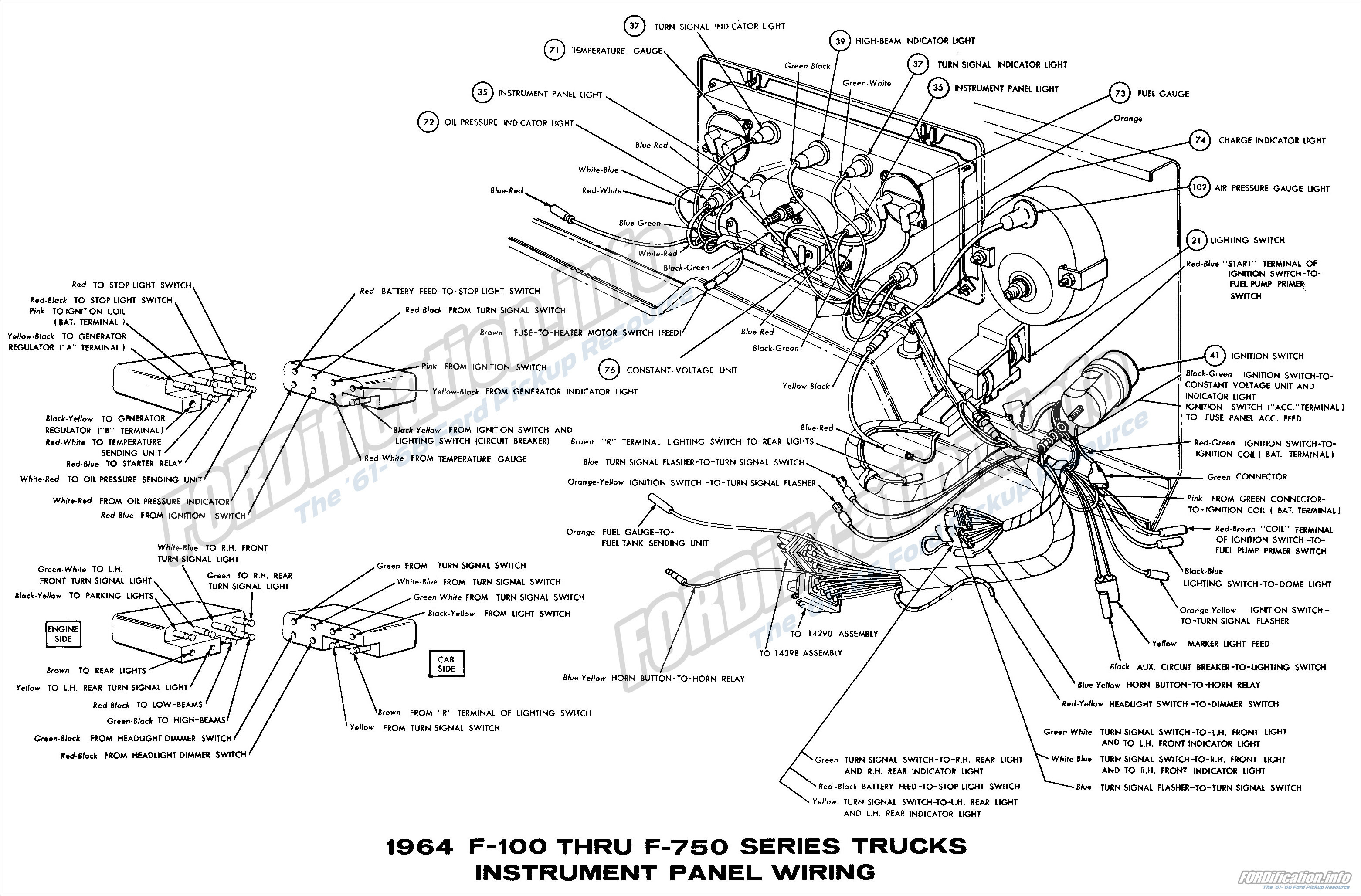 1964 Ford F100 Wiring Schematic Wiring Diagram Inspection Inspection Consorziofiuggiturismo It
