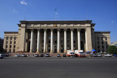 British Kazakhstan University in Almaty (by Yodod)