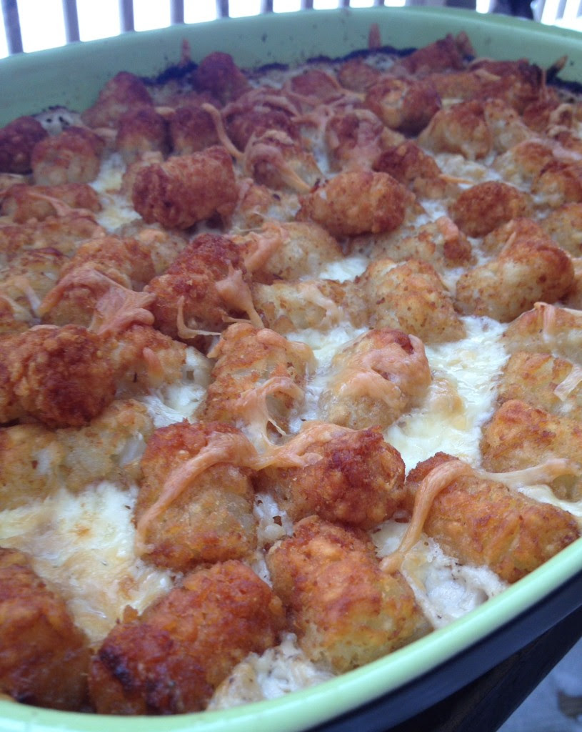 Tater Tot Casserole ⋆ That Which Nourishes