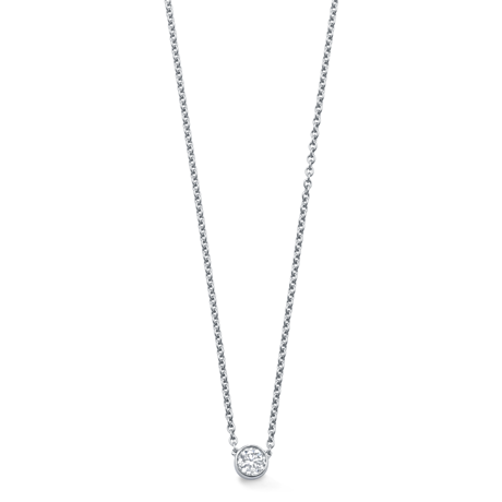 Gossamer White Gold and Diamond Necklace  f7055c596a63