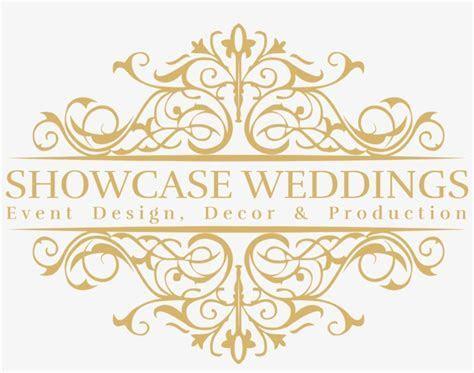 Wedding Event Logo Design Transparent PNG   1690x1249
