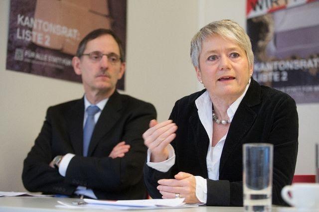 Probleme mit dem Informationsfluss? Mario Fehr und Jacqueline Fehr.