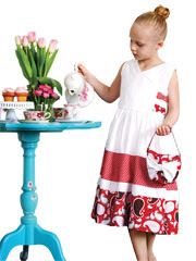High Tea Soiree Dress Sewing Pattern