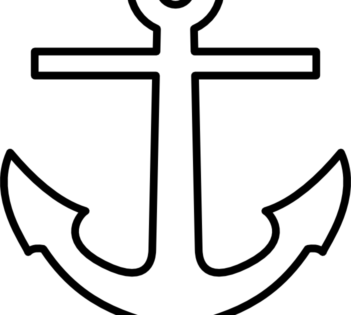 Recreation therapy ideas anchor art for Anchor coloring page