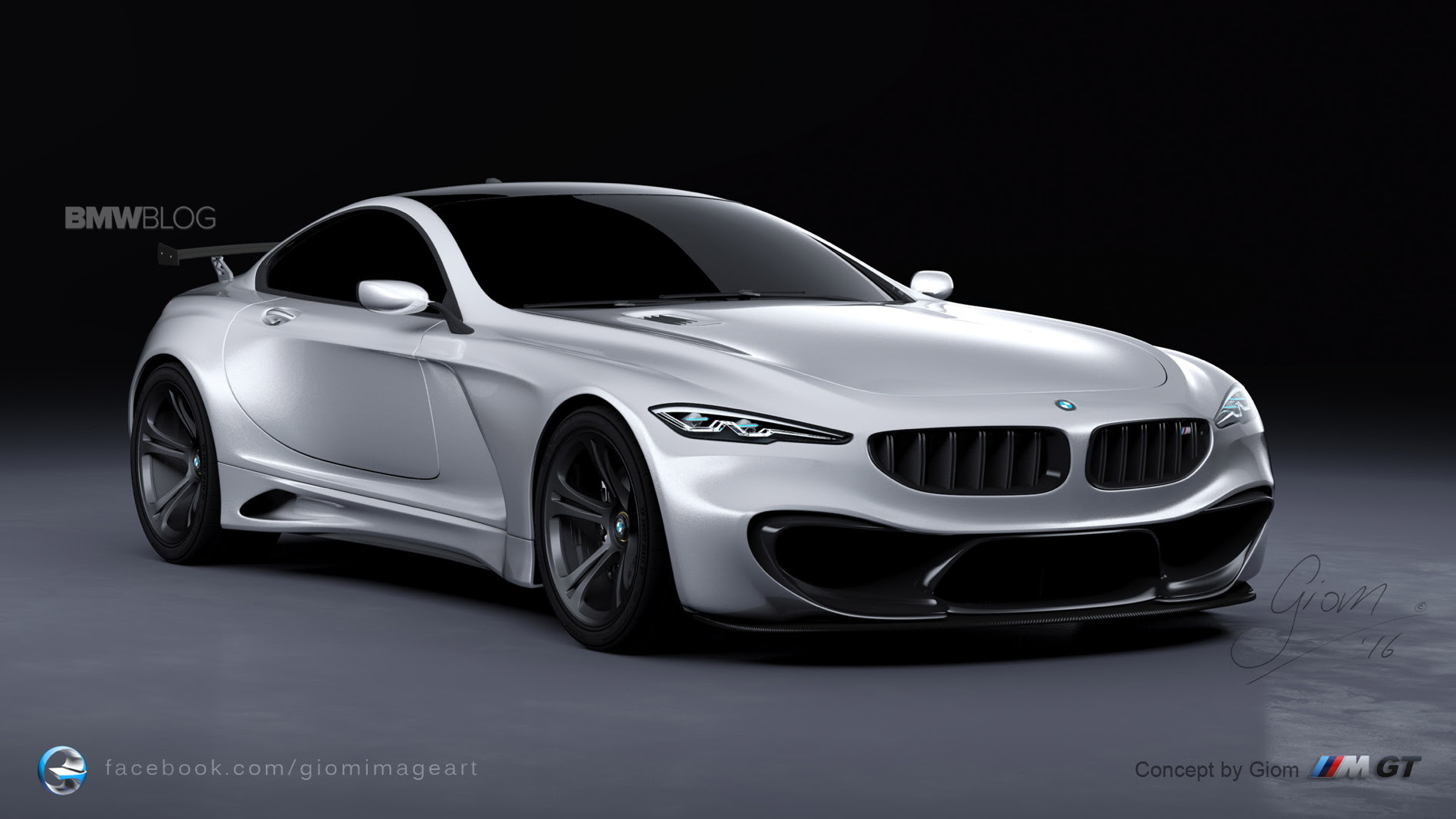 Design Study - What a BMW M-GT could look like