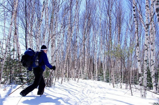 Nordic skiing at Mont Tremblant is a fantastic experience