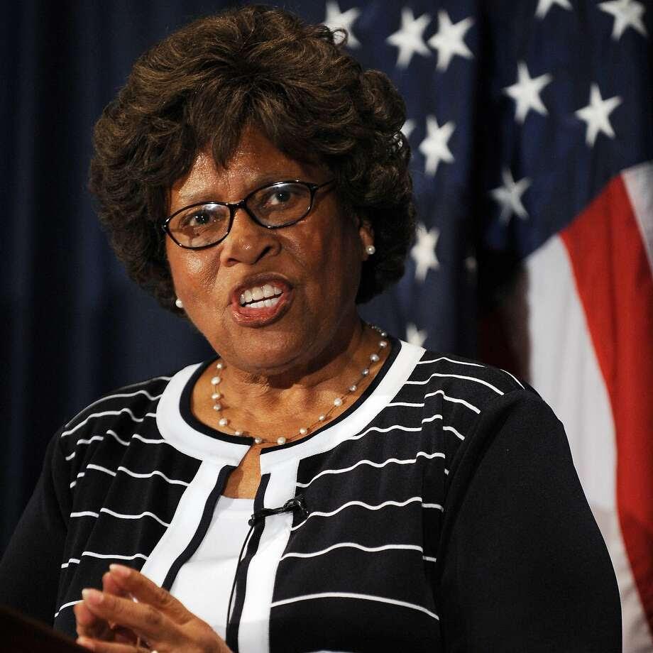 Joycelyn Elders. Photo: Afp, AFP/Getty Images