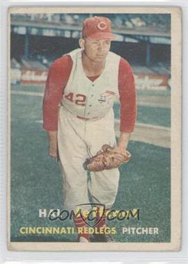 1957 Topps #93 - Hal Jeffcoat [Good to VG‑EX] - Courtesy of COMC.com