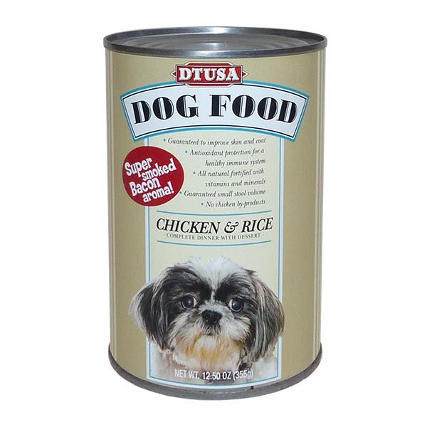 Cp205 Shitz Canned Dog Food Design Town Usa