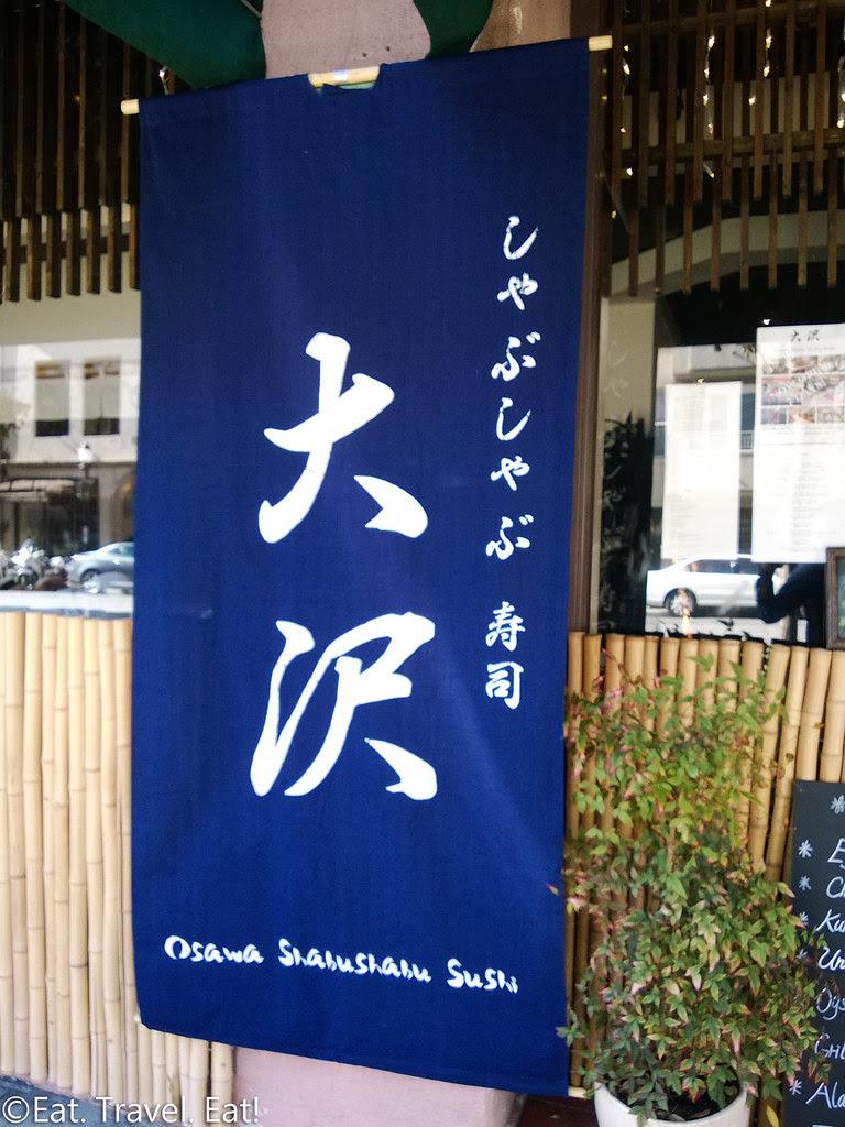 Osawa- Pasadena, CA: Exterior Signage