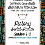 Common Core Social Studies FREE Back-to-School ebook: Grades 6-12