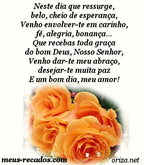 Frase De Bom Dia Amor Orizanet Portal Gifs By Oriza Frases