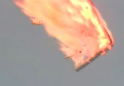 Explosion of a Progress-M rocket on July 2, 2013