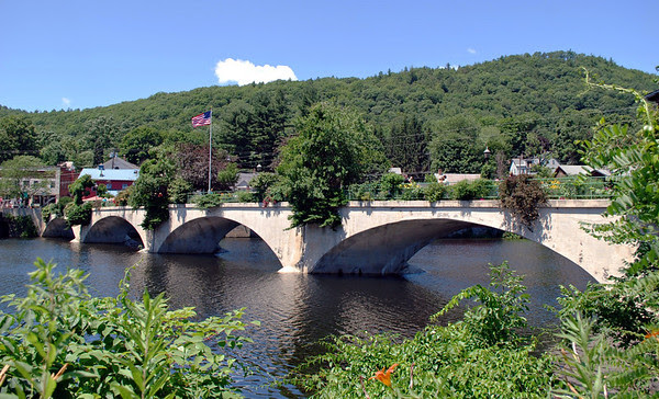 Shelburne Falls' Bridge of Flowers