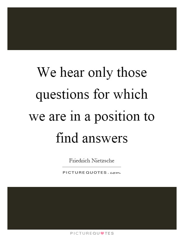 Questions Quotes | Questions Sayings | Questions Picture ...