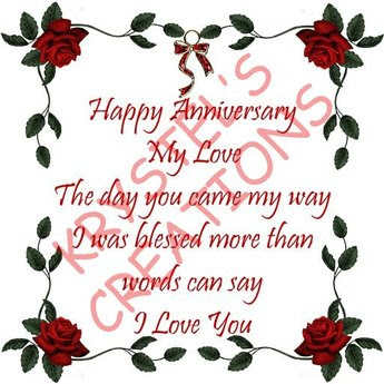 Happy Anniversary My Love The Day You Came My I Was Blessed More