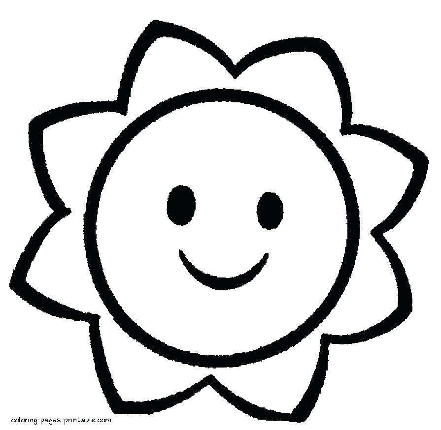 Simple Shapes Coloring Pages at GetColorings.com | Free ...
