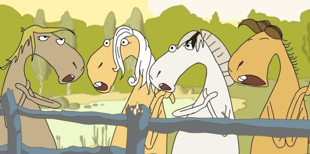 Cavalos Cantores!
