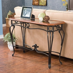Enhance Your Living Room With A Console Table Interior