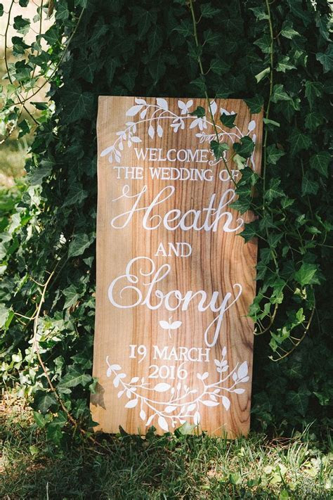 An Intimate Outdoor Wedding   Signs, Outdoor weddings and