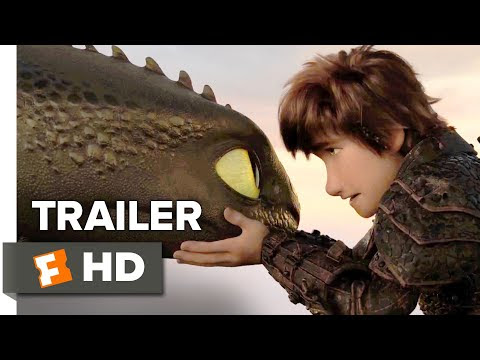 How to Train Your Dragon: The Hidden World Trailer #2 (2019)