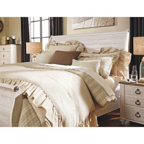 willowton king sleigh bed  ksleighbed ashley