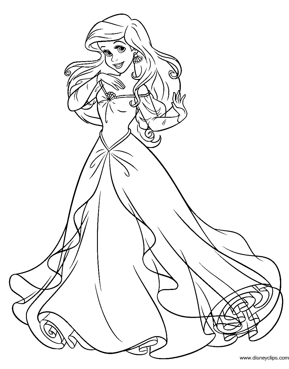 25+ Excellent Photo of Ariel Coloring Page ...