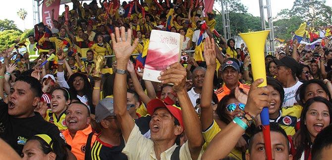 Clasifique o no Colombia, la vida debe continuar: alcalde Rodrigo Guerrero