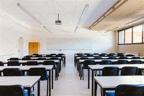 Empty classroom ~ Education Photos ~ Creative Market