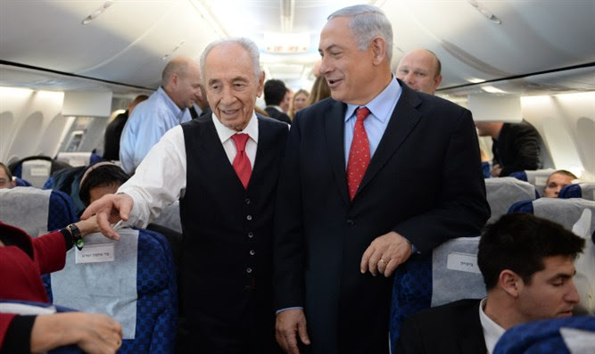 Peres and Netanyahu