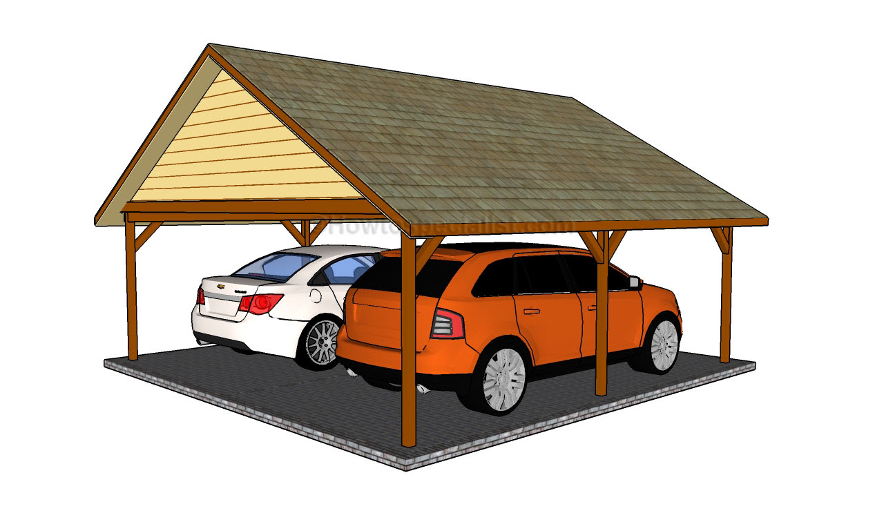 Free carport plans | HowToSpecialist - How to Build, Step ...