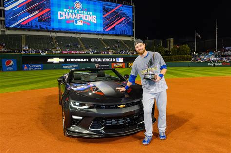 world series mvp ben zobrist  keys    chevy
