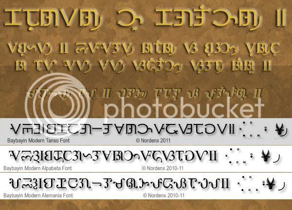 Western Style Baybayin Typefaces