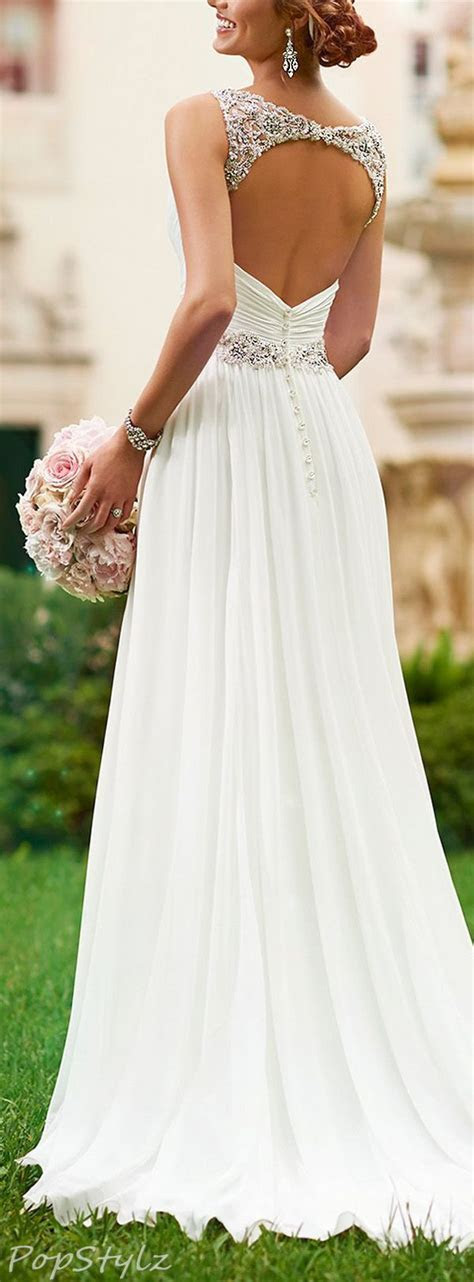 25  best ideas about Open back gown on Pinterest   Open