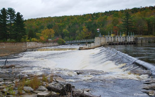 Dam on the Androscoggin River at Rumford, ME