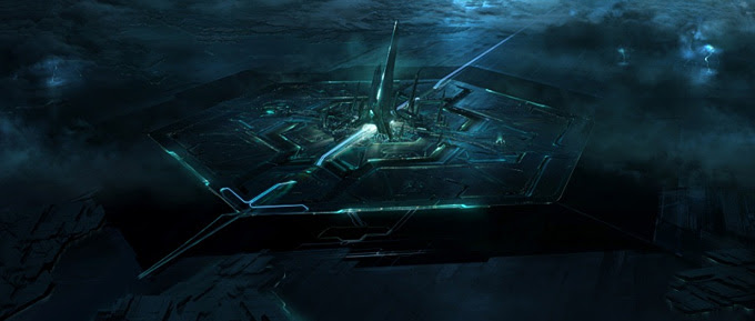 Tron: Legacy concept art by Dylan Cole