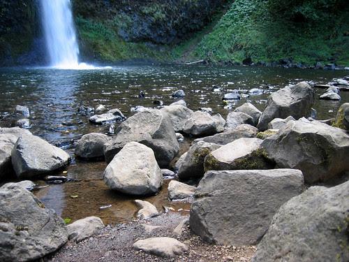 Horsetail Falls Base