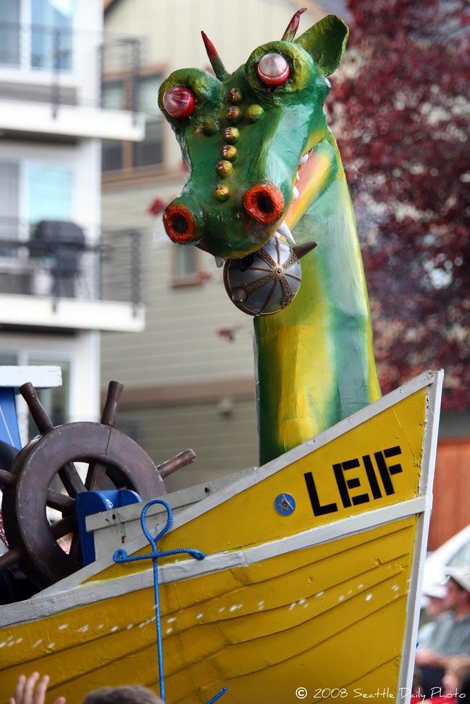 Ballard Syttende Mai Sea Serpent