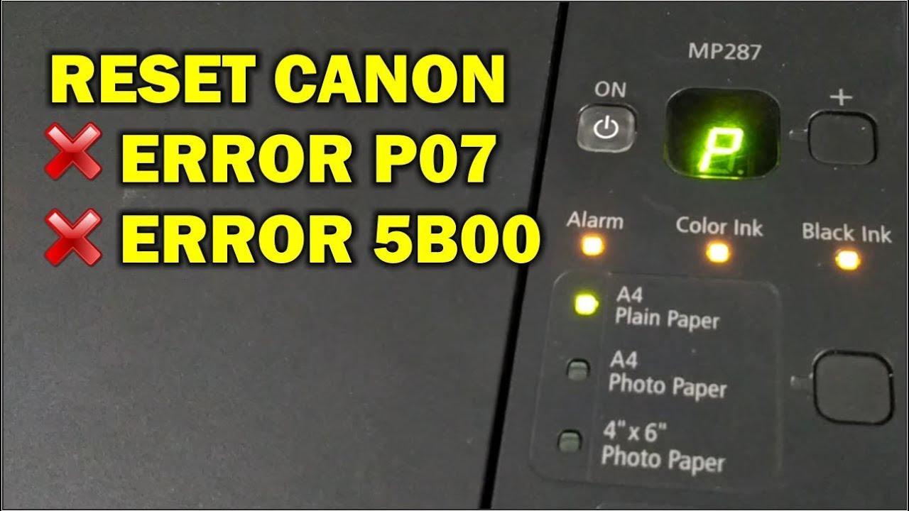Cara Reset Printer Canon Mp287 Tanpa Software - keensf