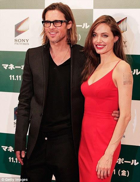 Angelina e Brad tiveram de suportar intermináveis rumores sobre o estado de seu relacionamento - o stress de que poderia estar contribuindo para a perda de peso