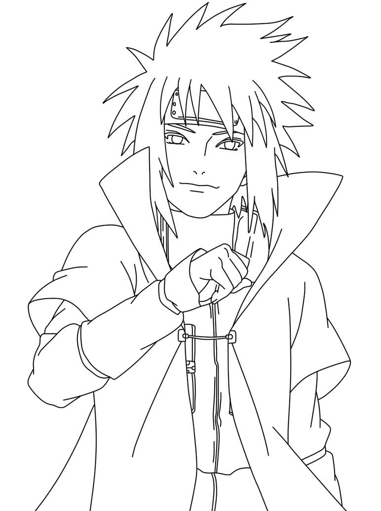 Gambar  Naruto Dengan Pensil Koleksi Gambar  HD
