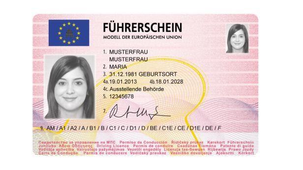 Nach österreichischem recht: Führerschein neu wien