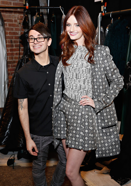 Christian Siriano - Christian Siriano - Backstage - Mercedes-Benz Fashion Week Fall 2014