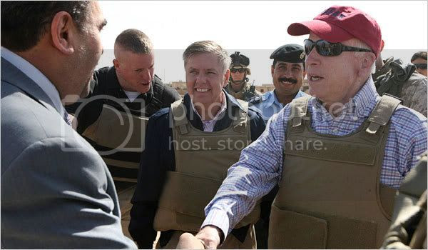 McCain in Iraq