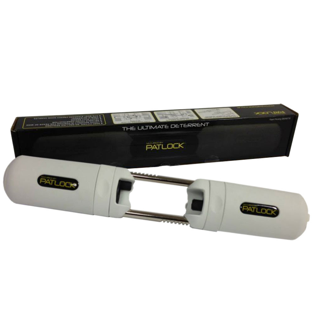 Patlock - Patio Door Handle Lock - www.locktrader.co.uk