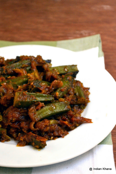Punjabi Bhindi Masala Recipe Okra Recipes Indian Khana