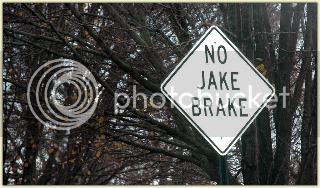 No Jake Brake